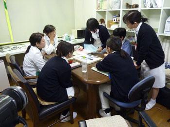 2010年2月の小原先生の歯科指導
